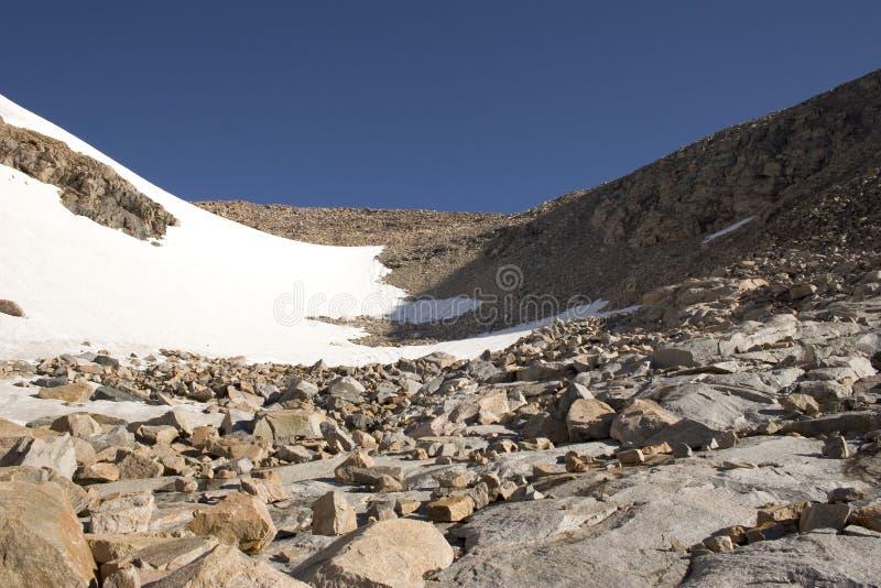 碗城堡蒙大拿山 库存图片