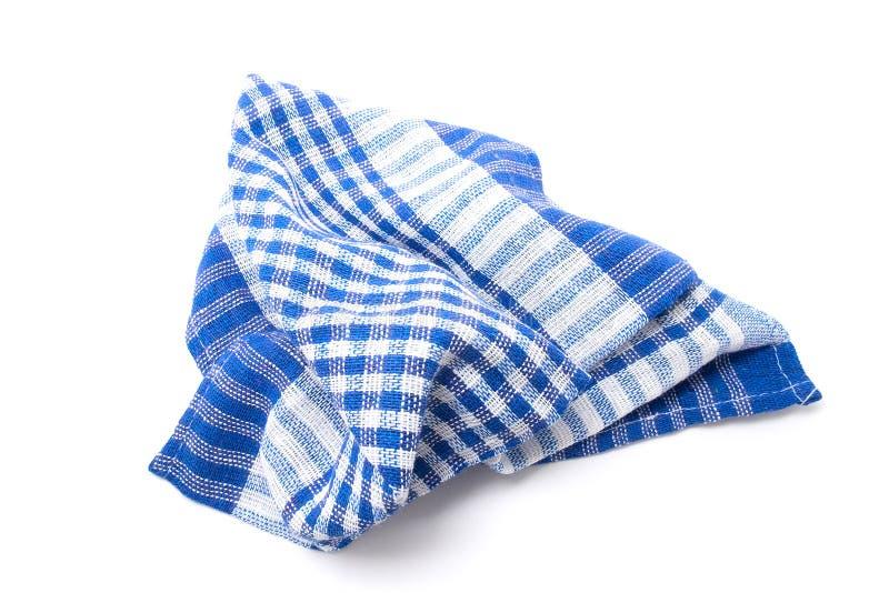 洗碗布 背景查出的白色 免版税库存照片