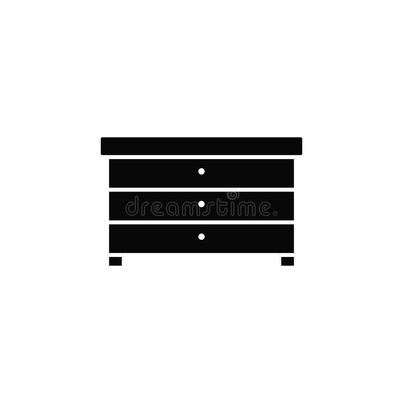 碗柜,象 简单的象,网络设计,流动应用程序,infographics的元素网站的 网站设计的重线象和 库存例证