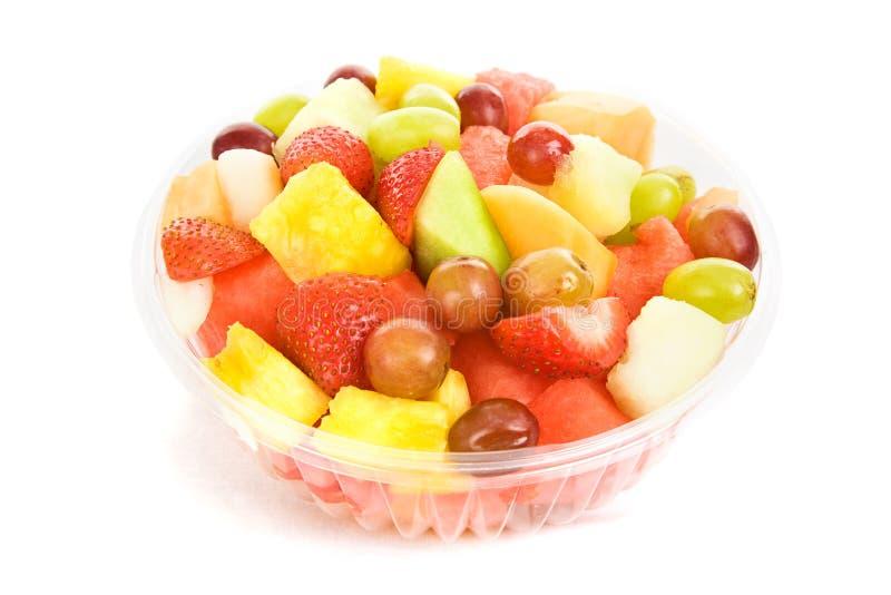 碗水果沙拉 免版税库存照片