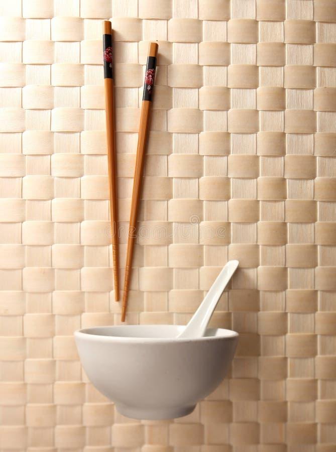 碗筷子 库存图片
