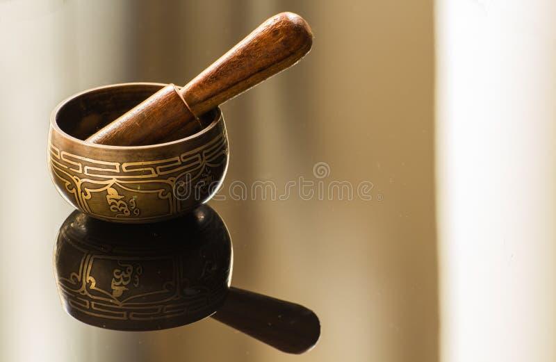 碗藏语 免版税库存图片