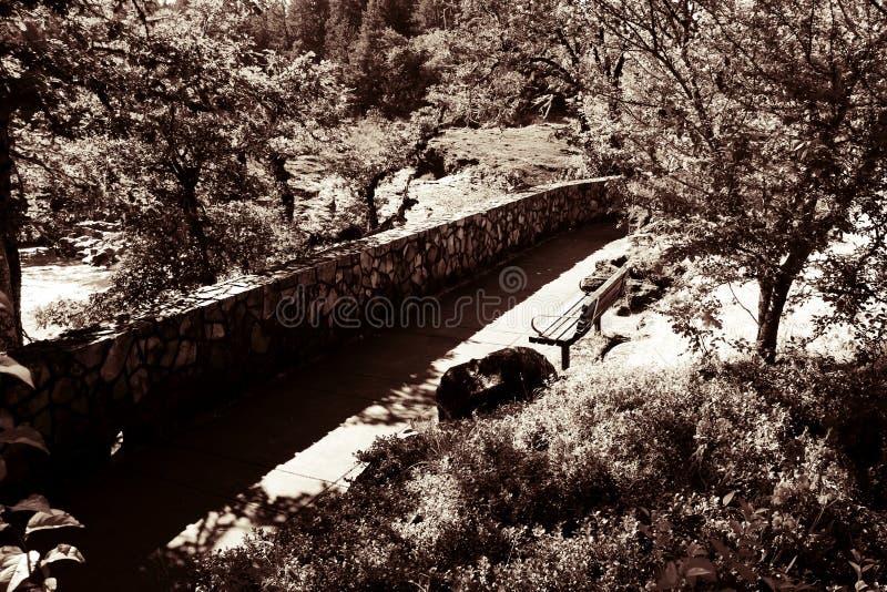碰撞的河公园在南俄勒冈 免版税库存图片