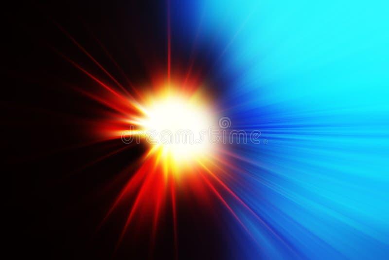 碰撞的行星摘要背景 皇族释放例证