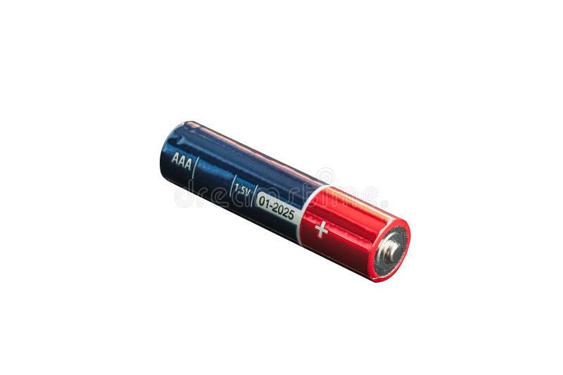 碱性电池蓝色 图库摄影