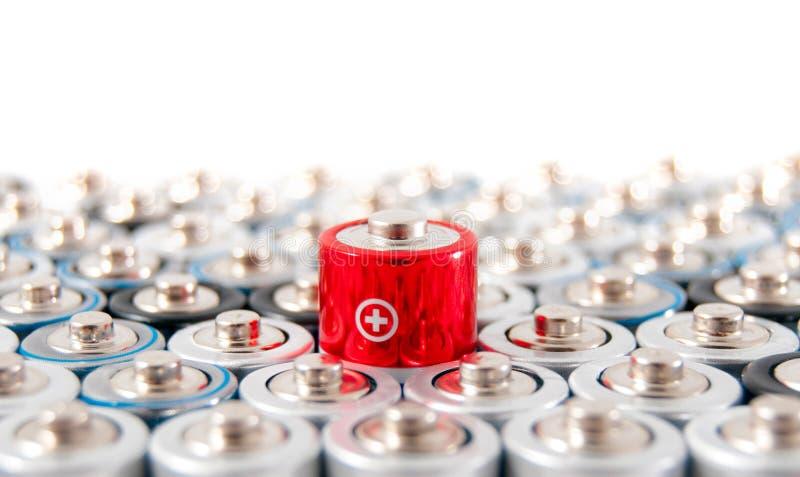碱性电池AAA 库存图片