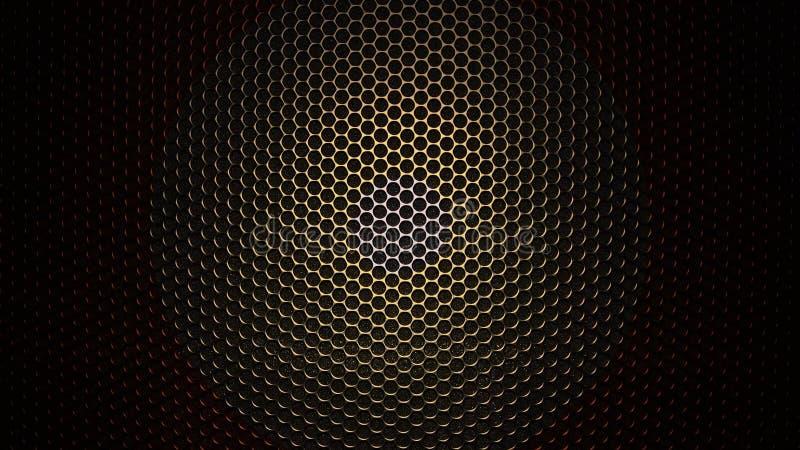 碳凯夫拉尔纤维材料纹理  背景有色种人音乐向量 抽象碳涂层 皇族释放例证