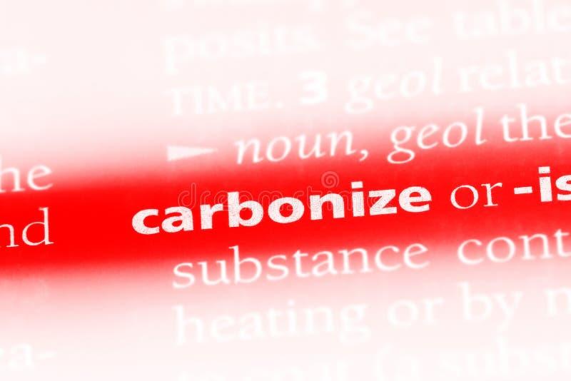 碳化 免版税库存照片