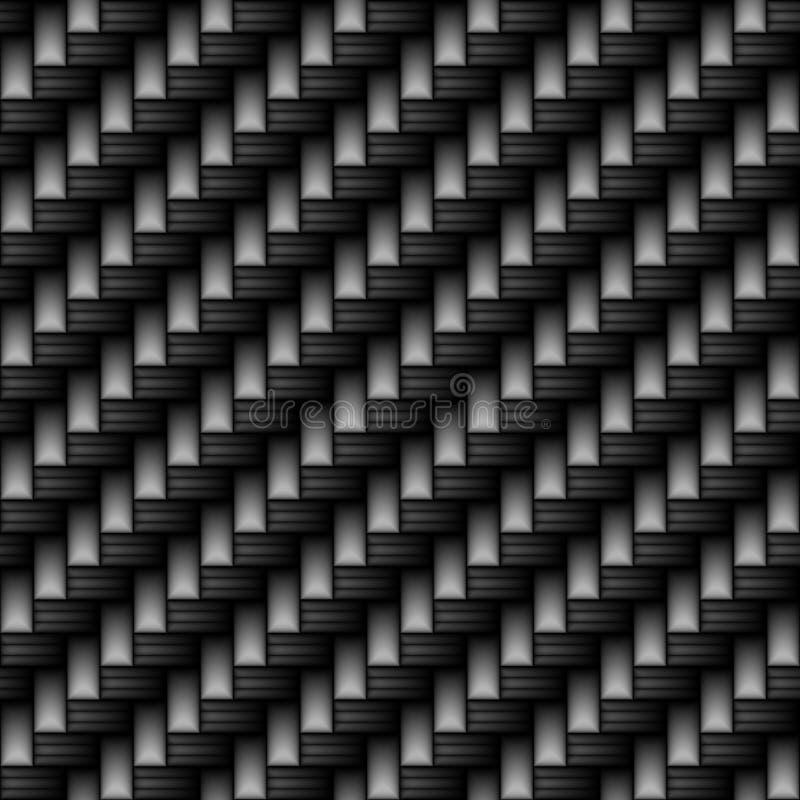 碳纤维材料 库存例证