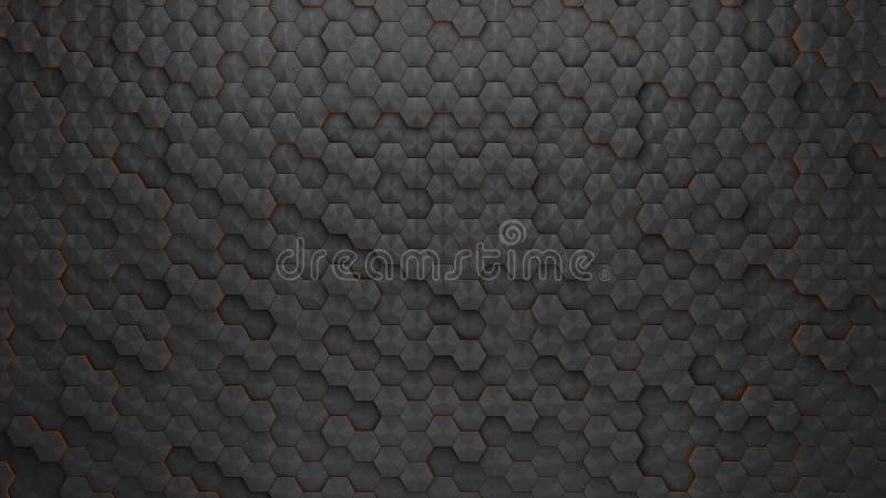 碳纹理 皇族释放例证