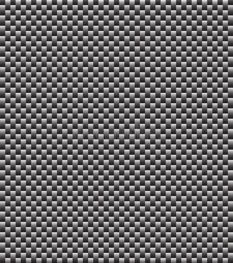 碳补白纹理 皇族释放例证