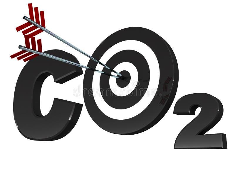 碳赊帐 向量例证