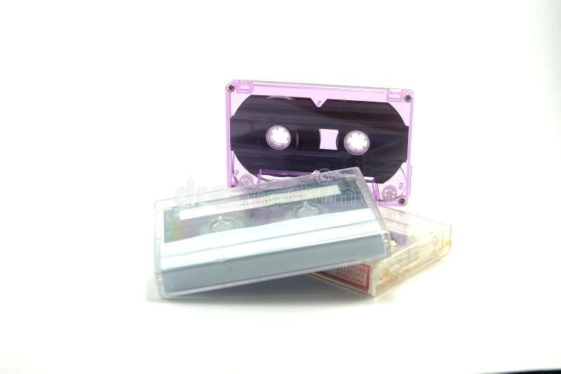 磁带老录音磁带 库存图片