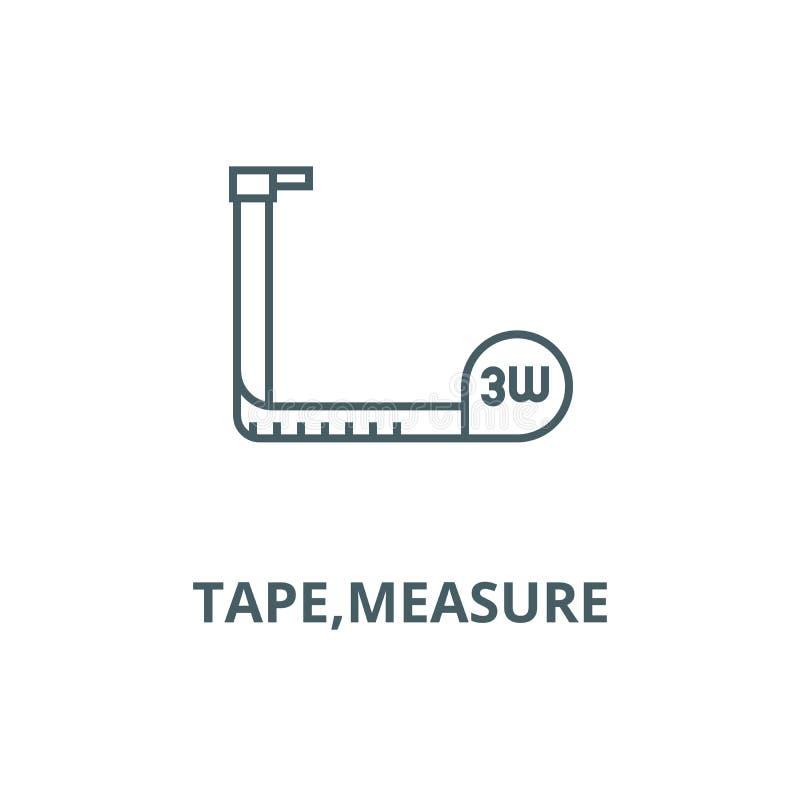 磁带,测度向量线象,线性概念,概述标志,标志 皇族释放例证