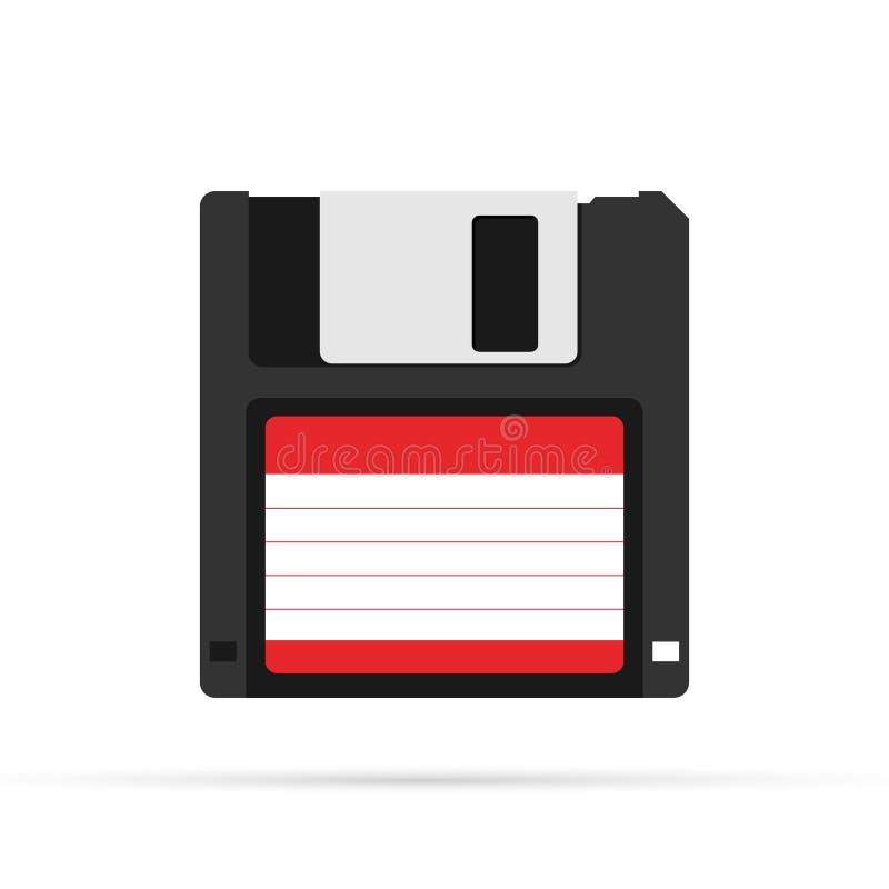 磁性磁盘 r t 库存例证