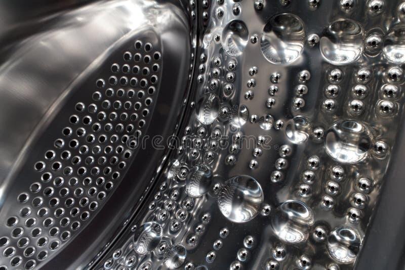 磁鼓机洗涤物 免版税库存照片