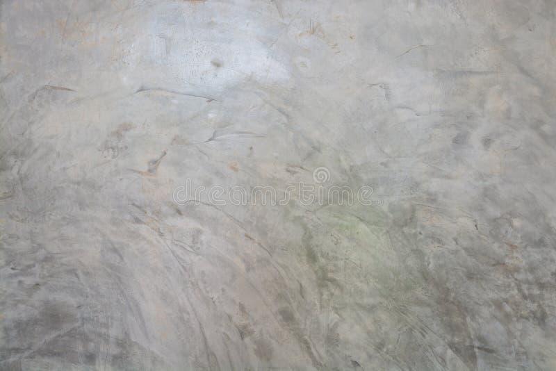 磨光水泥光滑抹灰混凝土墙的背景纹理 库存图片