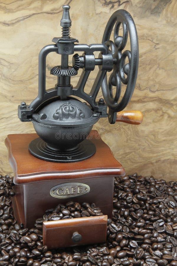 磨咖啡器 库存图片
