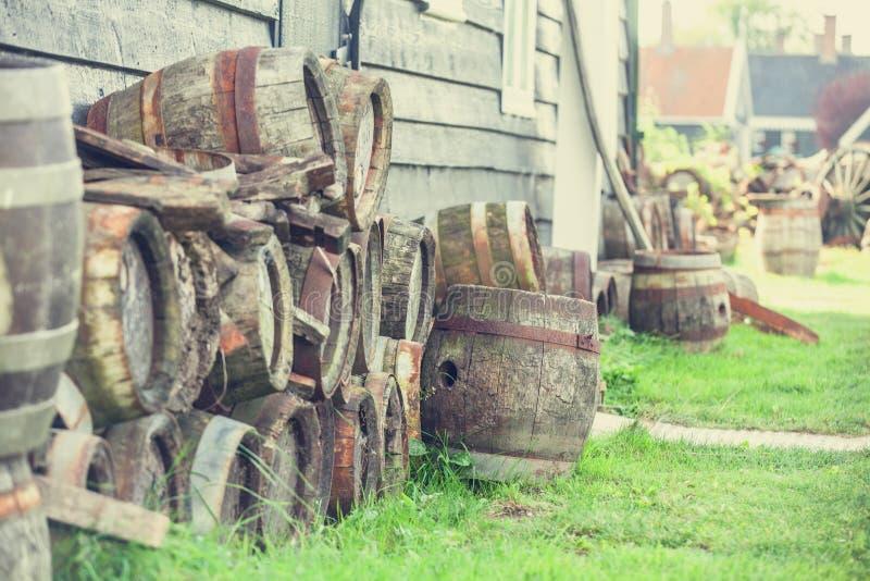 滚磨木 免版税库存照片