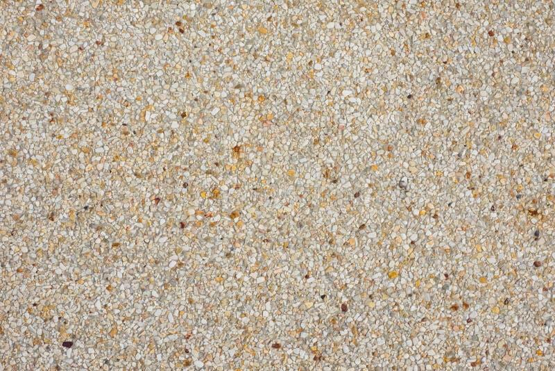磨石子地地板,石洗涤表面  库存照片