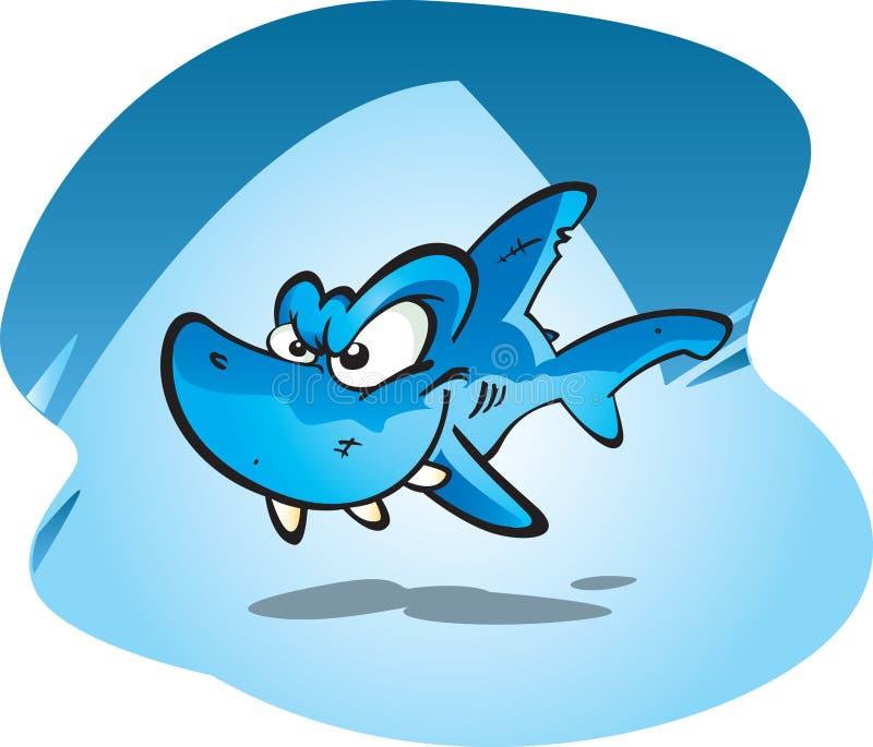 礁石鲨鱼 库存例证