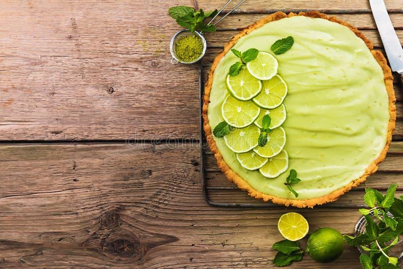 礁莱檬饼 免版税库存图片