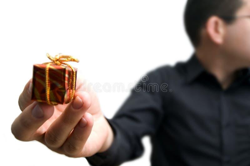礼品一点 免版税库存图片