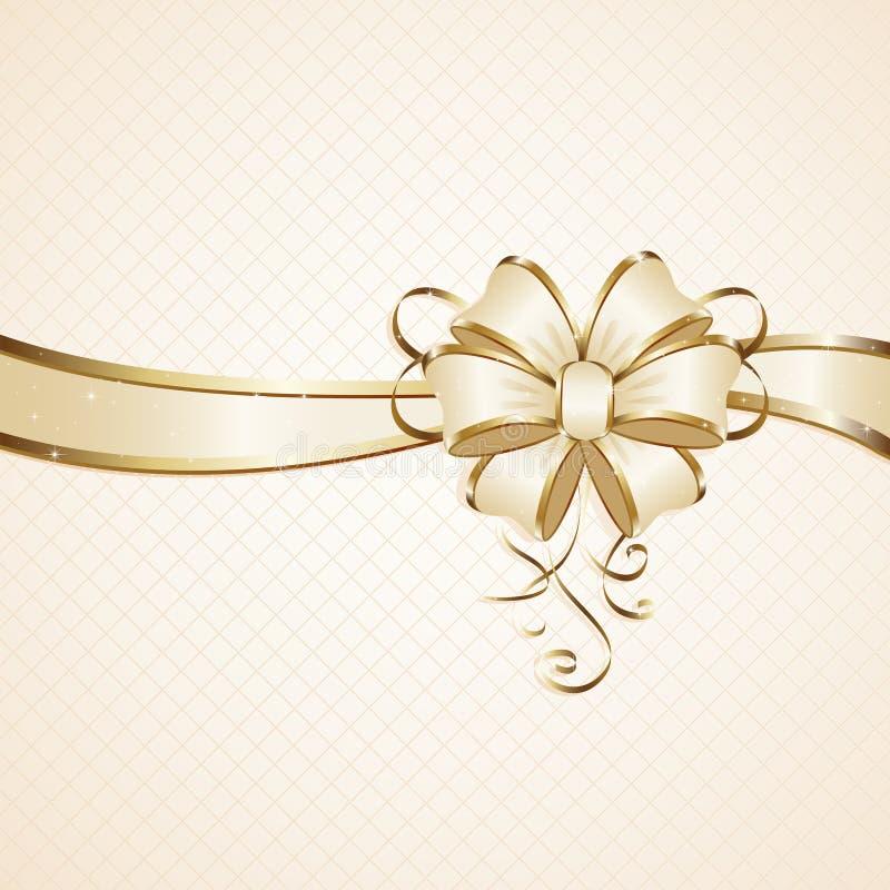 礼品弓 向量例证