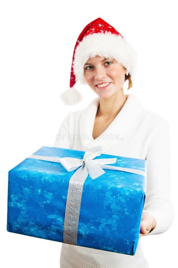 礼品新的s妇女年年轻人 免版税库存图片