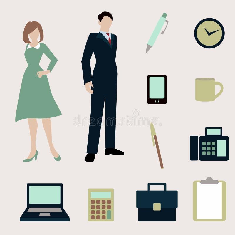 Download 礼品查出的对象办公室集 向量例证. 插画 包括有 工作者, 电话, 文件夹, 东西, 膝上型计算机, 生意人 - 59102942