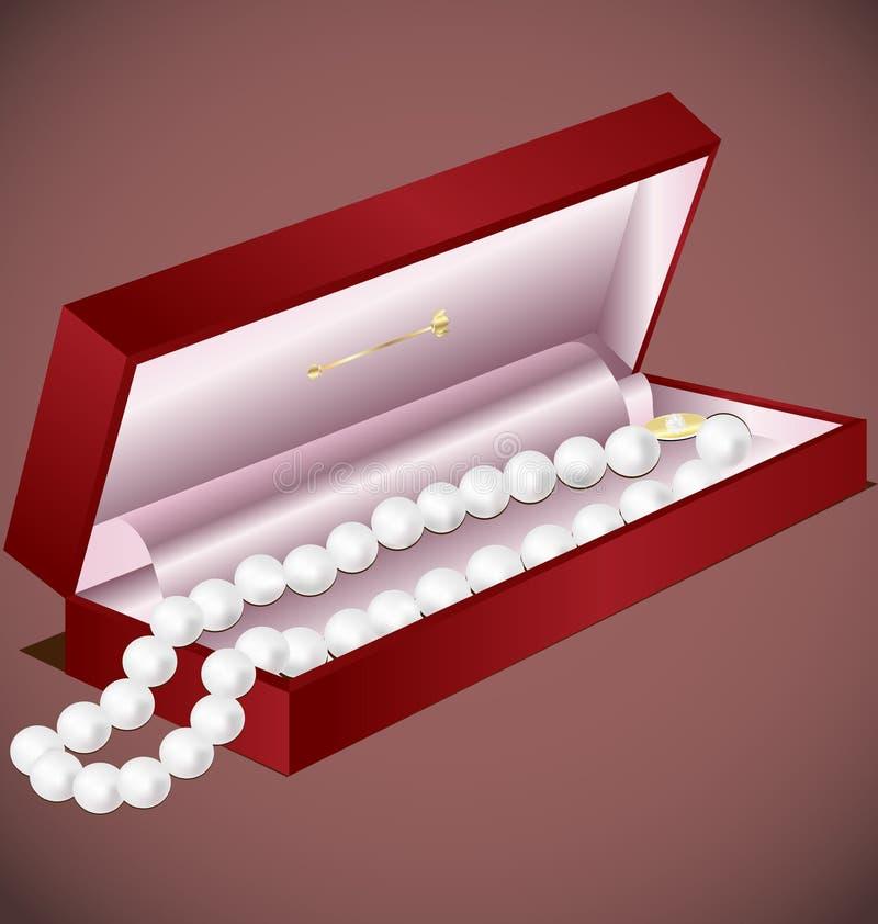 礼品珍珠 皇族释放例证