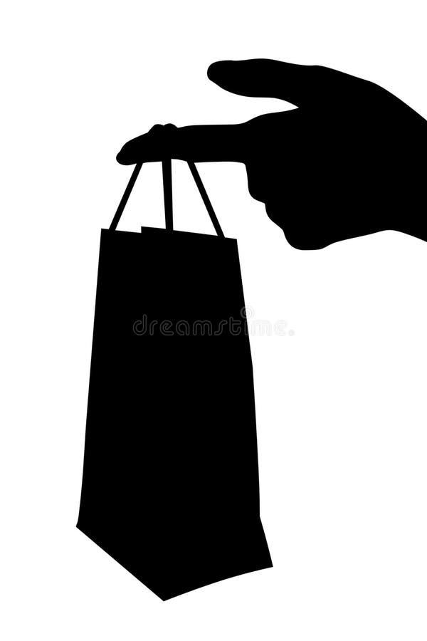 礼品程序包采购 库存例证
