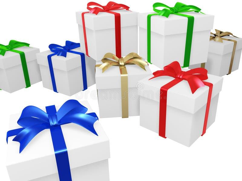 礼品程序包 皇族释放例证