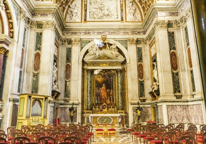礼拜堂法坛大教堂圣约翰Lateran大教堂罗马意大利 库存图片