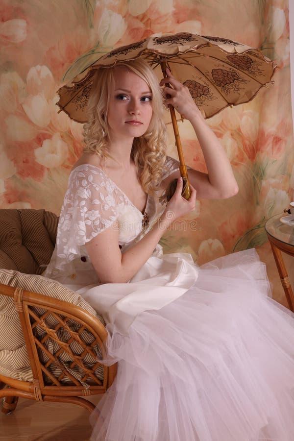 礼服婚礼妇女 免版税图库摄影