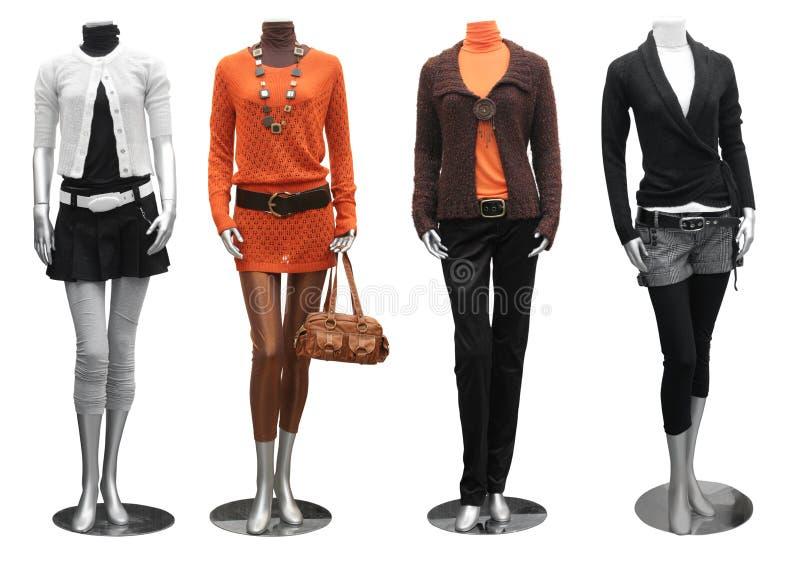 礼服方式时装模特 免版税库存图片