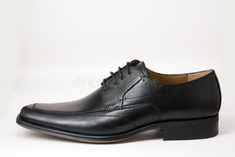 礼服查出的鞋子白色 库存照片