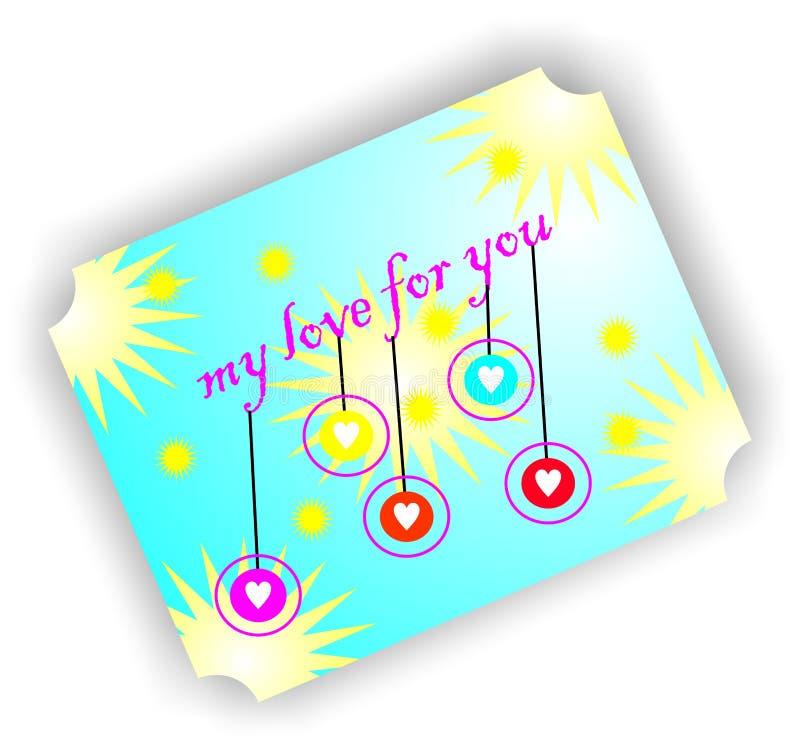 礼物我的对您的爱 库存照片