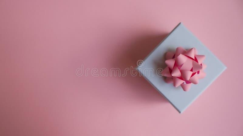 礼物盒背景 库存照片
