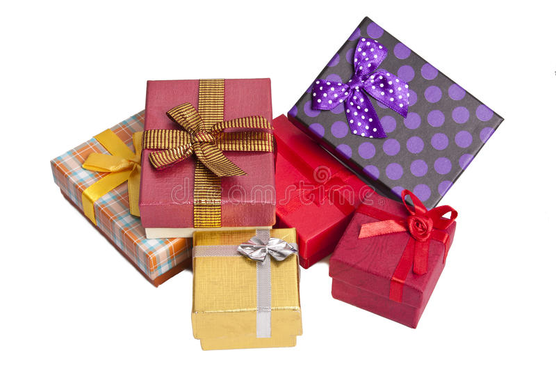 礼物盒 免版税图库摄影