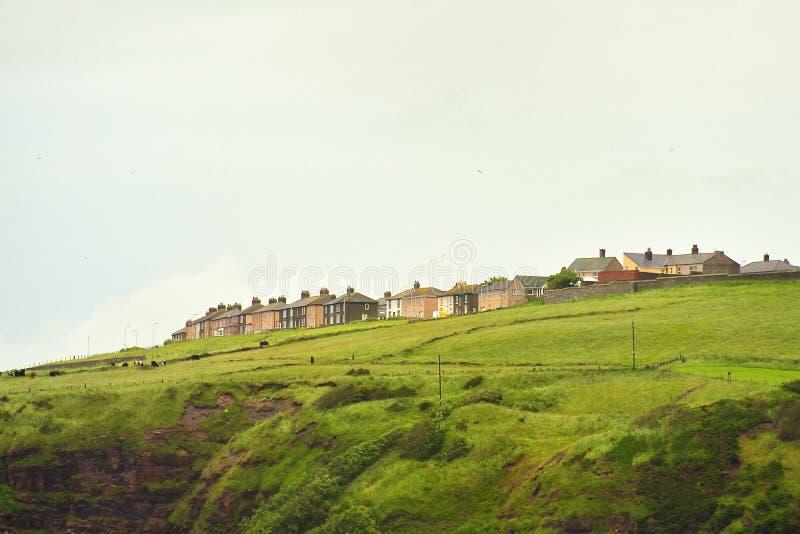 社会住房问题, Cumbria 库存图片