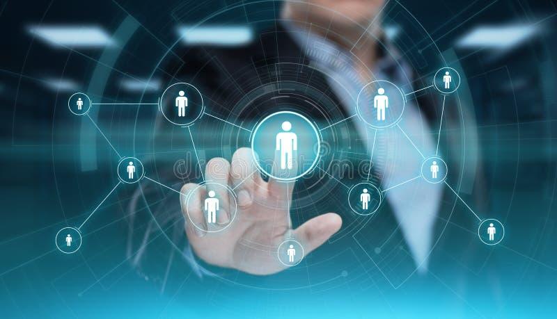 社会媒介通讯网络互联网企业技术概念 免版税库存照片