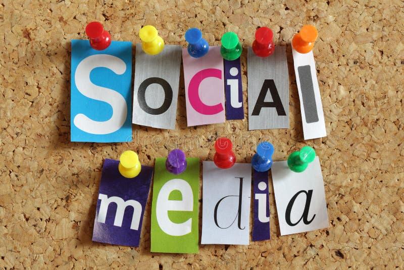 社会媒体 免版税库存照片