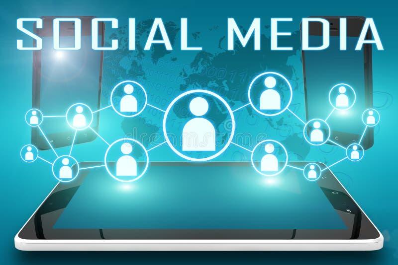 社会媒介 向量例证