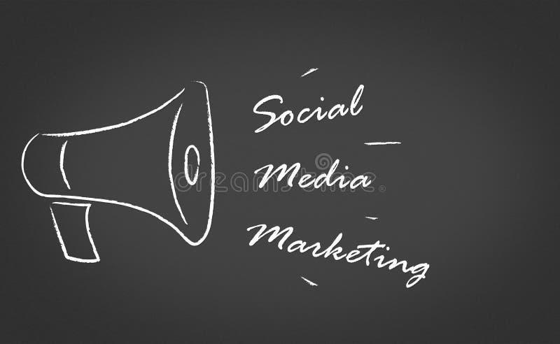 社会营销媒体 免版税库存图片