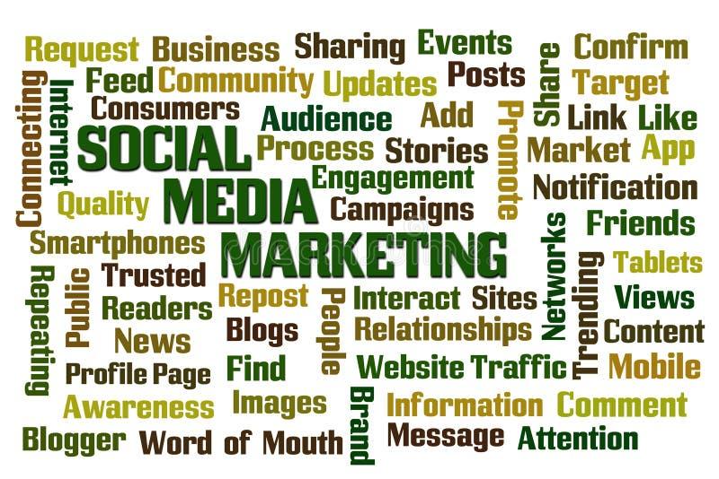 社会营销媒体 向量例证