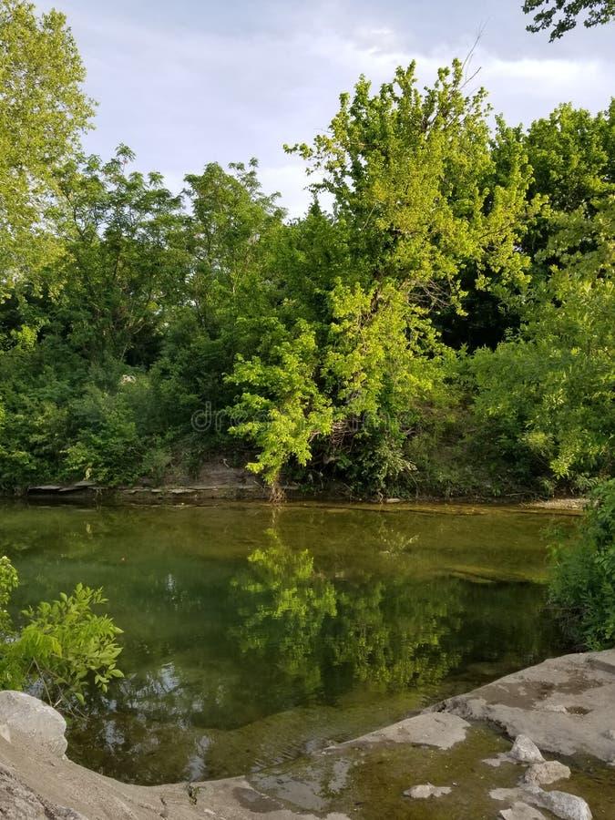 社区公园在Killeen 免版税库存图片