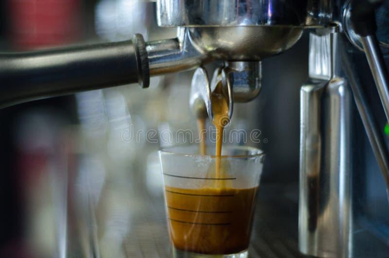 社团领袖咖啡机器 免版税库存照片