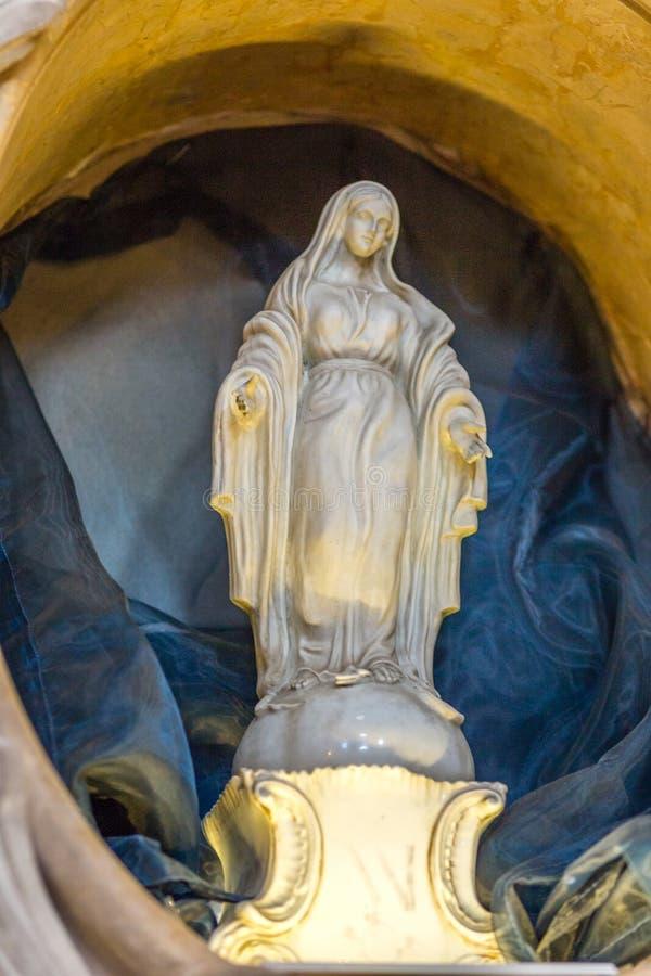 社论,保佑的圣母玛丽亚 库存照片
