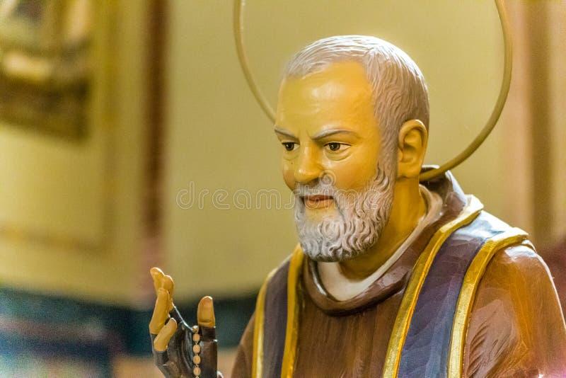 社论,虔诚圣徒的父亲 免版税库存照片